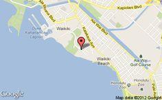 Embassy Suites Hotel - Waikiki Beach Walk Map - Great location!