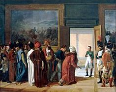 Napoleon receiving the Persian Ambassador to the castle of Finkenstein