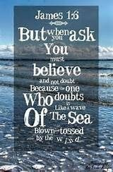 Foundation of Biblical Prayer: Believe... When we kneel down before God and open the Bible to any of the more than 3,000 promises and then ask God to fulfill His promises in our behalf, we have to believe that He will do what is best for us in His time. Mark 11:24 #Faith #Believe #TrustandObey   James 1:6 - But when you ask, you must believe and not doubt, because the one who doubts is like a wave of the sea, blown and tossed by the wind.  Luke 1:37 Hebrews 11:1