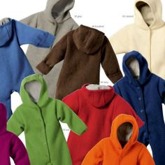 Disana wool overall natural, red, green, navy, grey, berry, orange
