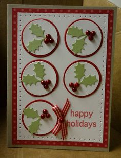 Stampin' & Scrappin' with Stasia: Search results for Holly