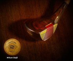 The Vintage Vault proudly reveals this antique wood. Developed under the direct supervision of Patty Berg, it was tremendously popular among women golfers in the late '70s.
