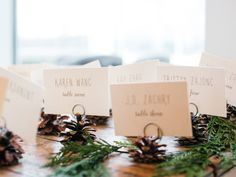 10 New Winter Wedding Ideas | Photo by: Michelle Wolfe Photography | TheKnot.com
