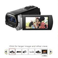 Sony HDR-TD20V High Definition Handycam 20.4 MP 3D Camcorder with 10x Optical Zoom and 64 GB Embedded Memory