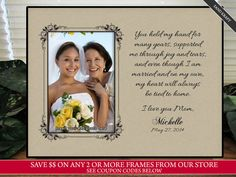 Mother of the Bride Gift Mother in Law Gift Mom by TheSubShoppe