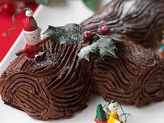Hairy Bikers' chocolate Yule log