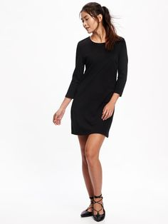 Old Navy sheath dress in black.