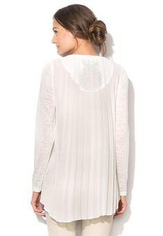 Biely pulóver