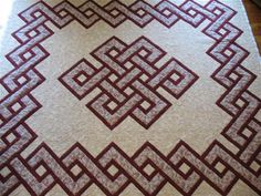 Gordian Knot Quilt with beautiful Border