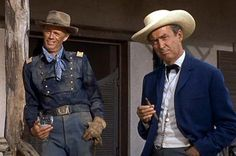 TWO RODE TOGETHER       1961 Richard widmark and Jimmy Stewart   The movie was nominated for a Laurel Award for TOP ACTION PERFORMANCE  (FINISHED 3RD PLACE.)