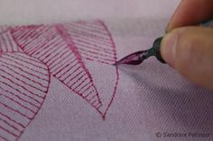 Drawing Patterns with a Dipping Pen and Ink on ARTiful, painting demos When working with pen and ink, you can mix your own colors. Using Pen and Ink into your artwork can be a bit intimidating at first but it is very easy to draw with pen and ink. #Drawing #Painting #SandrinePelissier #NorthVancouver #ink #pen