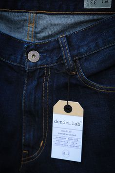 denim.lab comfort D2 wash denim