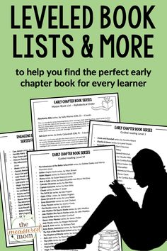 Looking for the best chapter book series for 1st, 2nd, and 3rd grade? I've reviewed 250 early chapter book series so you don't have to! Get printable lists to help you find that perfect book ... and 75 open-ended response sheets to boost reading comprehension! #firstgrade #secondgrade #thirdgrade #readingcomprehension