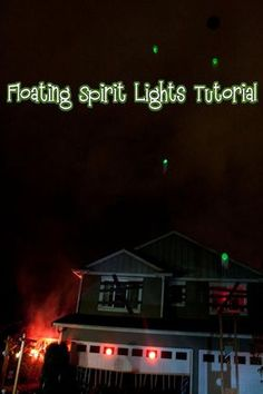 Floating Spirit Lights Tutorial ( Easy Project )