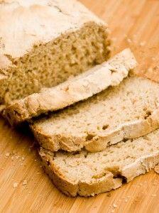 Gluten-free, soy-free, dairy-free, egg-free, & vegan bread