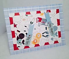 It's a Boy 7 by JBRCards on Etsy So cute for a baby shower!