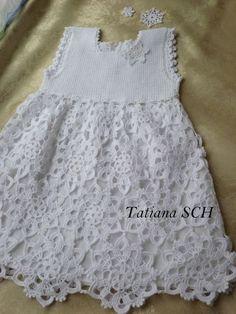 Blanco Medallón niños falda - Renee - Lei Yu Xuan