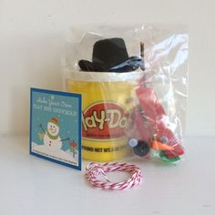 Snowman Kit - Playdo