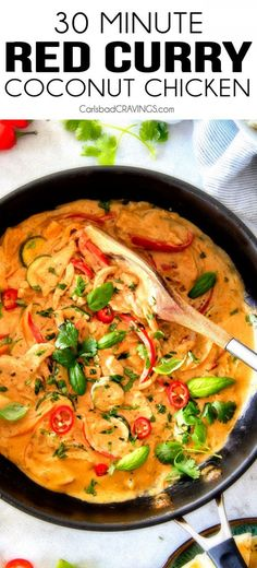 Get the recipe Red Curry Coconut Chicken @recipes_to_go