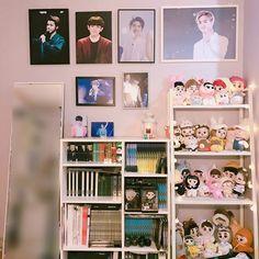 Small Room Bedroom, Bedroom Decor, Army Bedroom, Aesthetic Rooms, Kpop Aesthetic, Army Room Decor, Room Goals, Room Tour, Dream Rooms