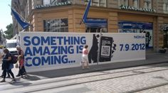 Something Amazing is coming to Helsinki