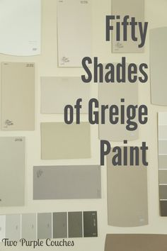 Tips for choosing the perfect hue of greige paint for your home.