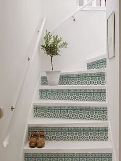 Foyer decorating – Home Decor Decorating Ideas Stair Renovation, Basement Renovations, Home Remodeling, Stair Stickers, Stair Makeover, Stair Decor, Home Decor Inspiration, My Dream Home, Home And Living