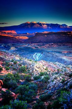 """Sunset view from Fiery Furnace at Arches National Park, Utah - 10 Stunning """"Photo Prints"""" by Belinda Shi Places To Travel, Places To See, Travel Destinations, Beautiful World, Beautiful Places, Paraiso Natural, Nature Photos, Amazing Nature, Wonders Of The World"""