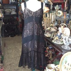 Ann Taylor Loft Lace Dress Beautiful Ann Taylor sleeveless lace dress with a zipper on the left hand side.    This gorgeous dress comes with a brown lining. Ann Taylor Dresses