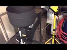 Gravity feed pellet stove details and walk around. - YouTube