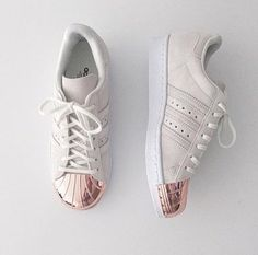 shoes shoes winter adidas adidas shoes adidas superstars adidas originals gold nude girly girl fashion toast fashion vibe fashion is a playground fashion fashion coolture style scrapbook style beige streetwear streetstyle sportswear sports shoes
