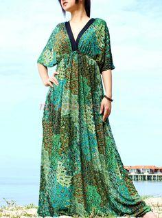 Peacock Women Plus Sizes Clothing Long Maxi Dress Plus Size Dress 4X 5X Bridesmaid Dress. $55.00, via Etsy.