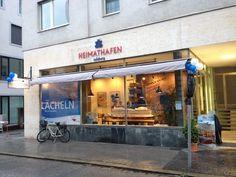 Der HEIMATHAFEN für Kreuzfahrten- Das Ladenlokal in Salzburg
