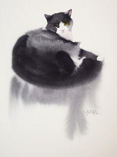 Yutaka Murakami - образ кошки в искусстве♥•♥•♥