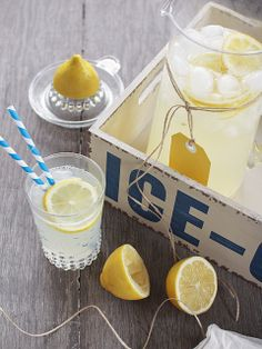 Lemonade with a twist!  Boozy Lemonade