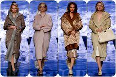 Alcuni frammenti della sfilata di Max Mara di ieri alle settimane della moda di Milano con i suoi colori sobri ed eleganti.