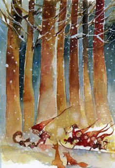 Pinzellades al món: Nadal: il·lustracions de Minna Immonen / Navidad: ilustraciones de Minna Immonen / Christmas: Minna Immonen Illustration...