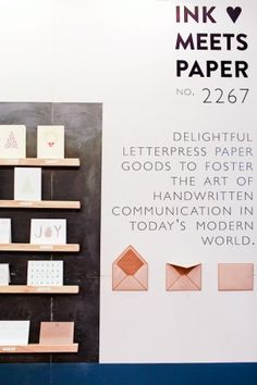 National Stationery Show 2013, Part 8 - Ink Meets Paper