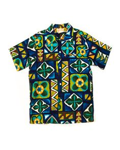 80061184 1970's Hawaiian Shirt Medium by KYC Vintage Aloha Shirt, Luau Party, Hula,  Hawaiian