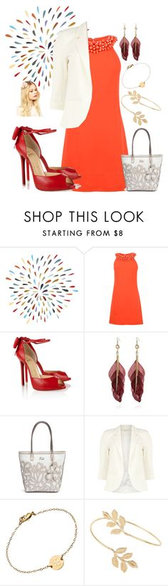 """""""Bullet From Smoke"""" by agent-skyewidow ❤ liked on Polyvore featuring Diane Von Furstenberg, Christian Louboutin, River Island, GUESS, Dorothy Perkins, Miriam Merenfeld, Miss Selfridge and Orelia"""