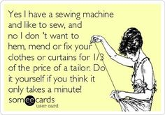 >>>Cheap Sale OFF! >>>Visit>> 14 Someecards for People Who Sew - Sewing Humor - Melly Sews Me Quotes, Funny Quotes, Funny Sewing Quotes, Sarcastic Quotes, Family Quotes, Sewing Humor, Quilting Quotes, Some People Say, E Cards