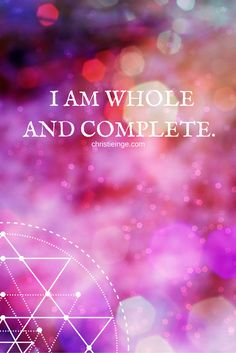 Nothing is missing. This is true abundance. I just have to be me, to trust, to be aware, to be open. Be easy.