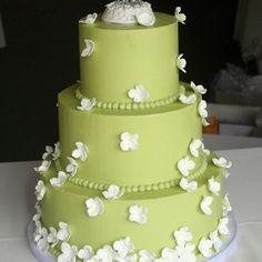 Hmmm Torte in grüne ??? Gefällt mir