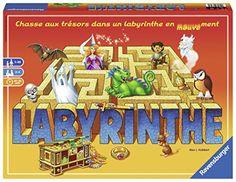 Ravensburger – 26743 – Labyrinthe: Une palpitante chasse aux trésors dans un labyrinthe en mouvement ! Contenu du packaging: 1 plateau avec…