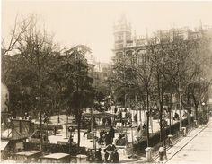 Plaza de Santa Ana en 1923