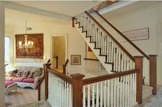 """Staircases... then behind you would be a sitting area like in the movie """"Stepmom"""""""