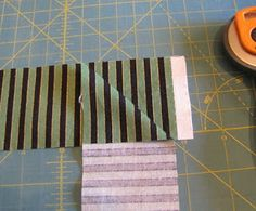 What a Hoot!: May Goal Post and Tutorial for Matching Stripes in Binding Strips
