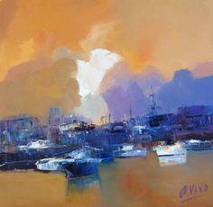 "Saatchi Art Artist Andres Vivo; Painting, ""Nº4236 Impertinent white cloud"" #art"