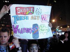 At the Million Hoodie March, 14th St., Union Square, NYC (3/21/12)