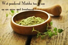 Create Matcha spot treatment